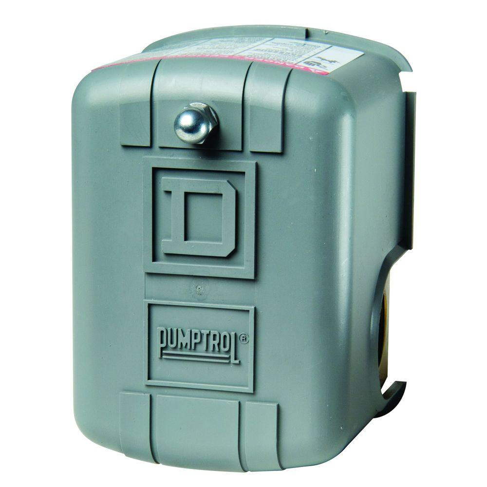 Square D 30-50 psi Pumptrol Water Pressure Switch