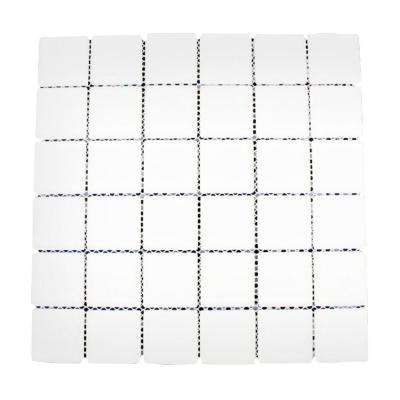 12 in. x 12 in. x 8 mm Contempo Bright White Polished Glass Tile