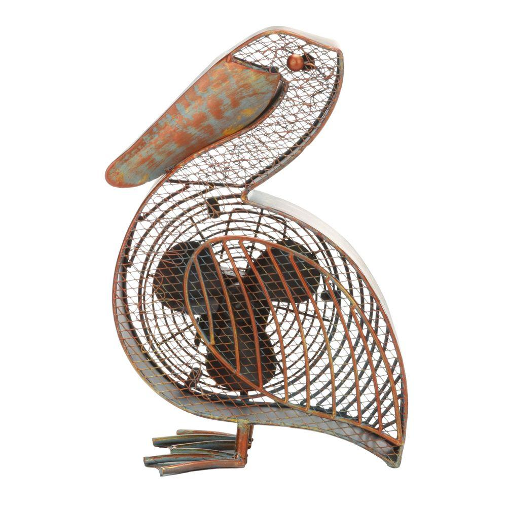 7 in. Figurine Fan-Pelican