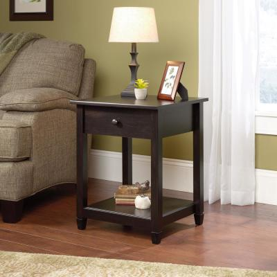 Edge Water Estate Black End and Side Table