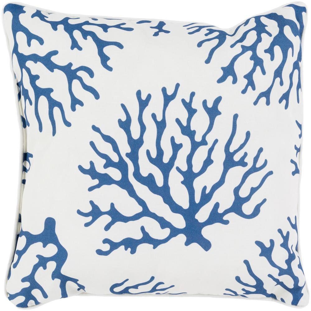 Artistic Weavers Brilva Navy Graphic Polyester 20 In X 20 In Throw Pillow S00151033420 The Home Depot