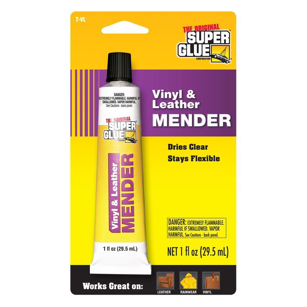 Super Glue 1 fl. oz. Vinyl/Leather Mender (12-Pack)