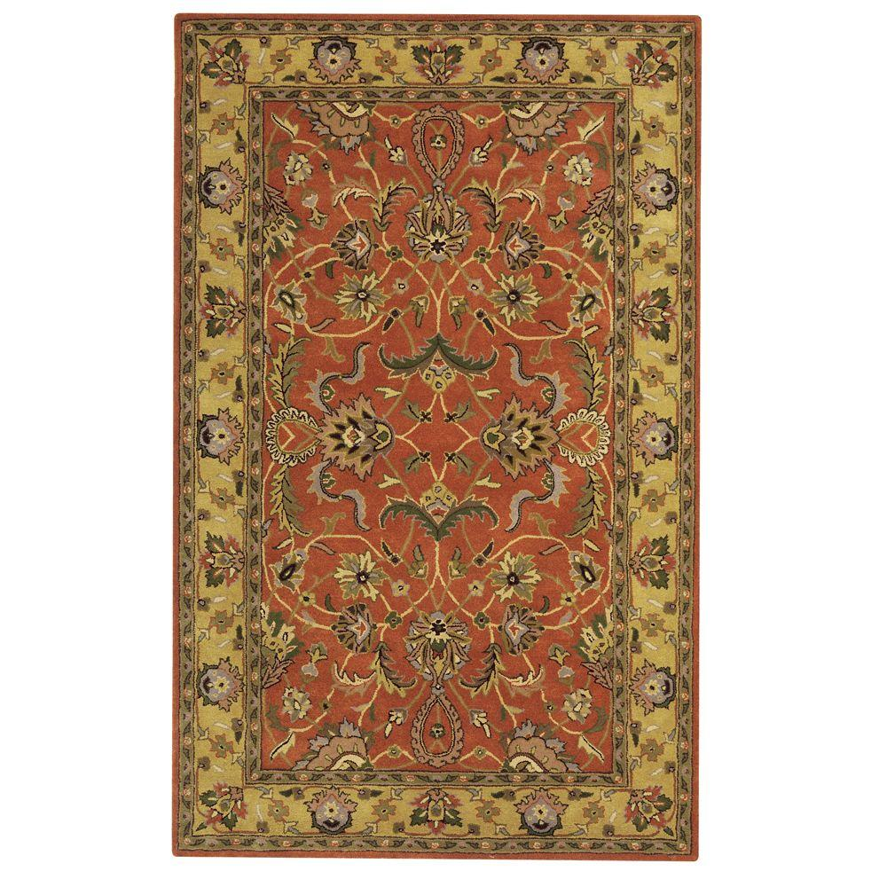 Constantine Rust (Red) 2 ft. x 3 ft. Accent Rug