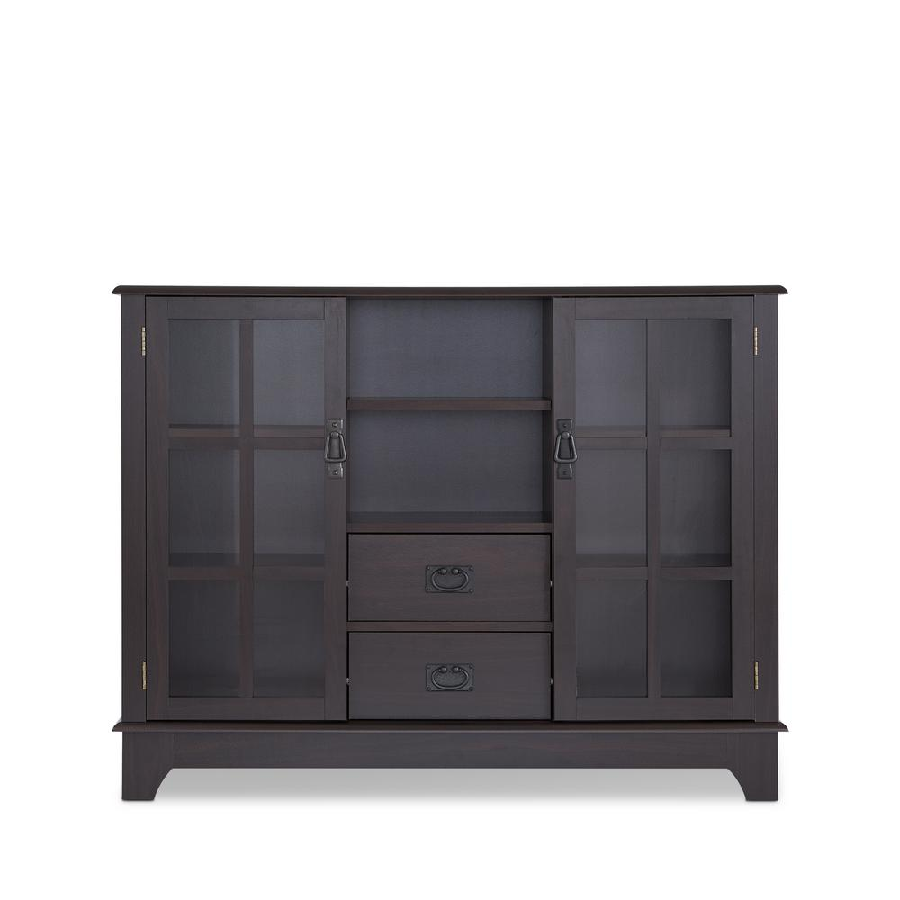 ACME Dubbs Espresso (Brown) China Cabinet