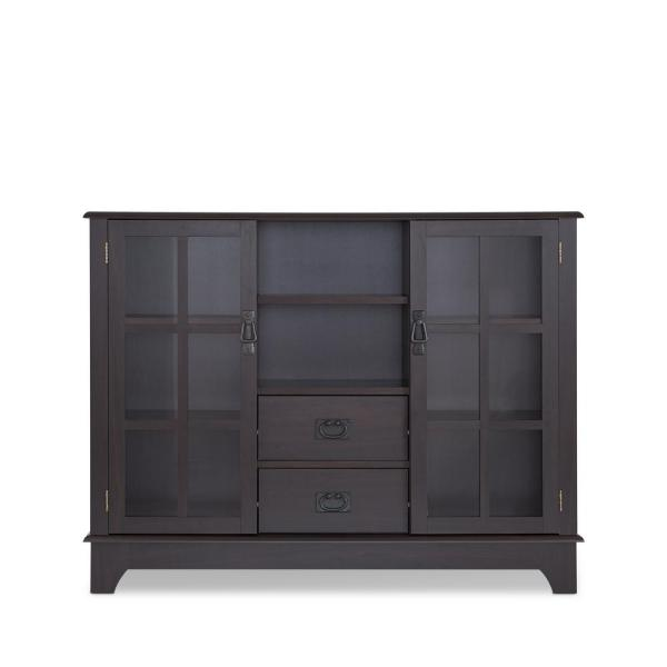 Acme Furniture Dubbs Espresso China Cabinet