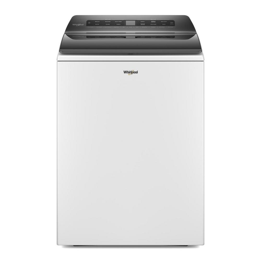 Whirlpool 4.8 cu. ft. White Top Load Washing Machine with Impeller and Water Faucet