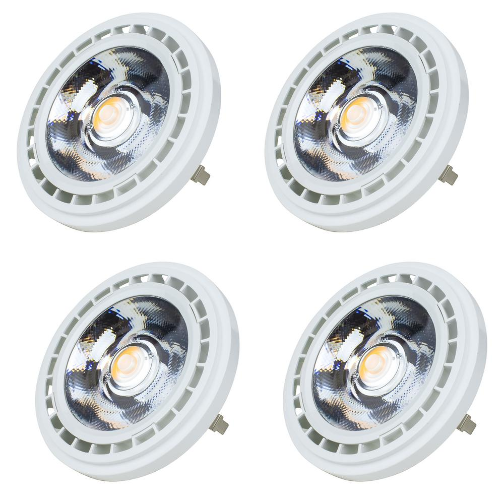 BulbWarm Watt 75 Lighting 3000k4 Light Ar111 Led Pack Equivalent Newhouse White cq34j5ARL