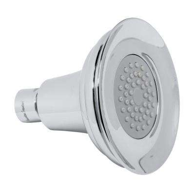 Willy Collection 3-Spray 5 in. Showerhead in Brushed Nickel