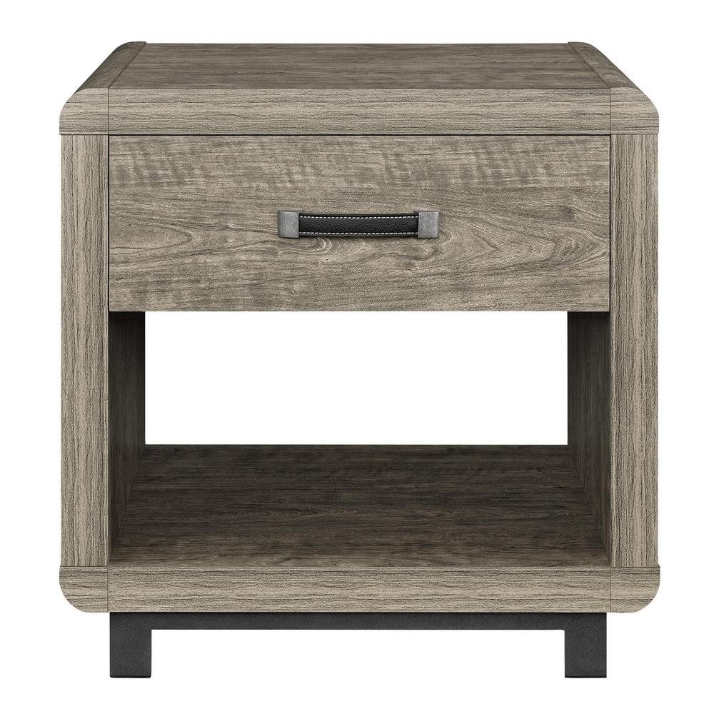 Ameriwood St. Charles Brown End Table, Brown Finish