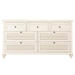 Deals on Home Decorators Collection Hamilton 7-Drawer White Dresser