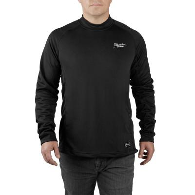 Men's 2X-Large Black Heated WORKSKIN USB Rechargeable Midweight Base Layer Shirt