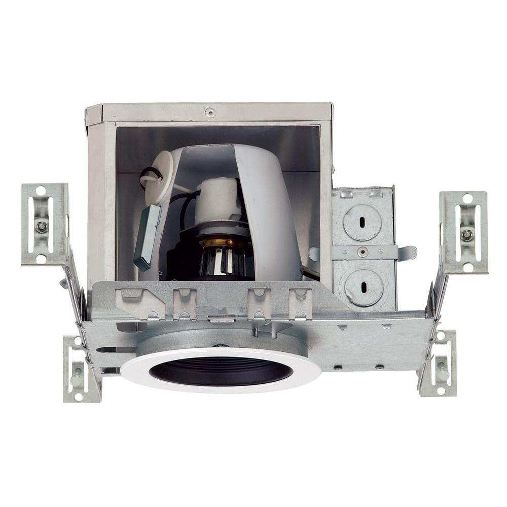 Nicor 4 in recessed ic rated airtight housing 19002a the home depot recessed ic rated airtight housing aloadofball Image collections