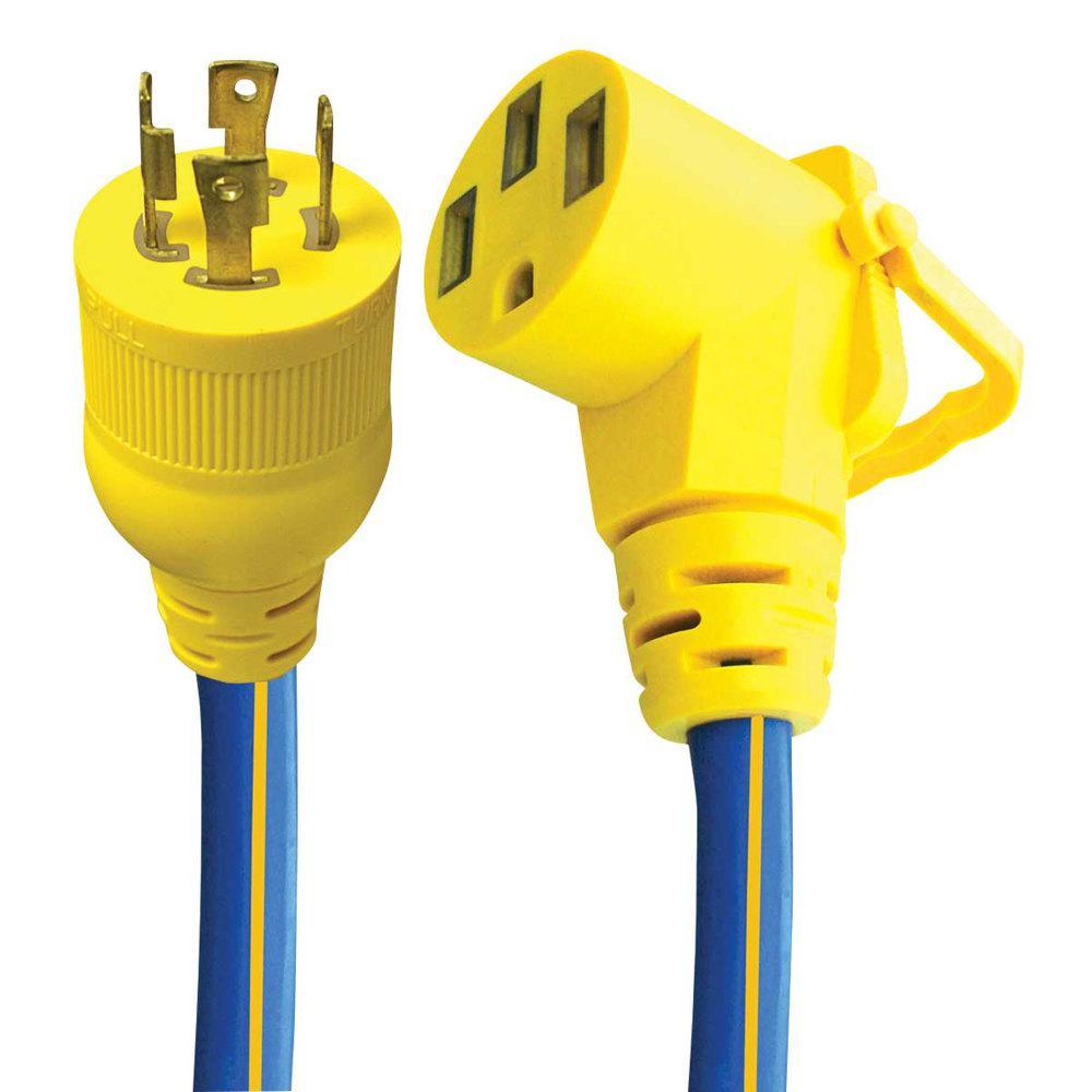 E-Zee 30 Amp/50 Amp, 10/4-Gauge Grip Adapter