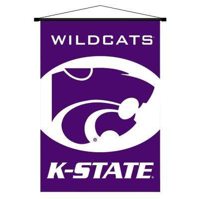 NCAA Kansas State Wildcats Indoor 3 ft. 3 in. x 2 ft. 3 in. Banner Scroll