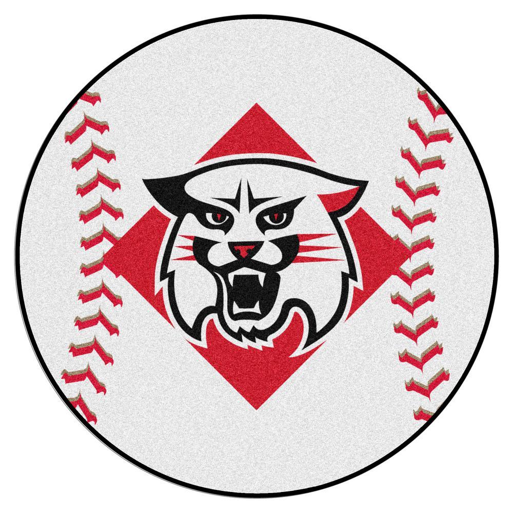 FANMATS NCAA Davidson College 27 In. Round Baseball Mat