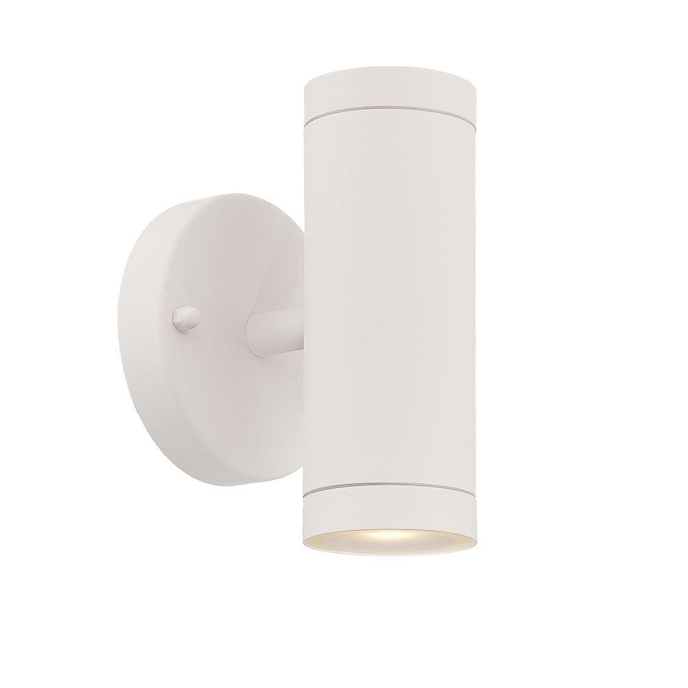 Acclaim Lighting 2 Light Textured White Integrated Led Wall Sconce