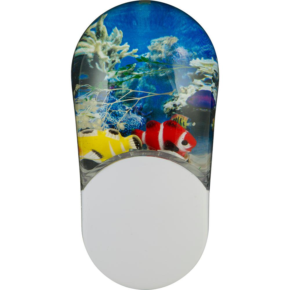 GE Aqualites Color-Changing Tropical Fish LED Night Light