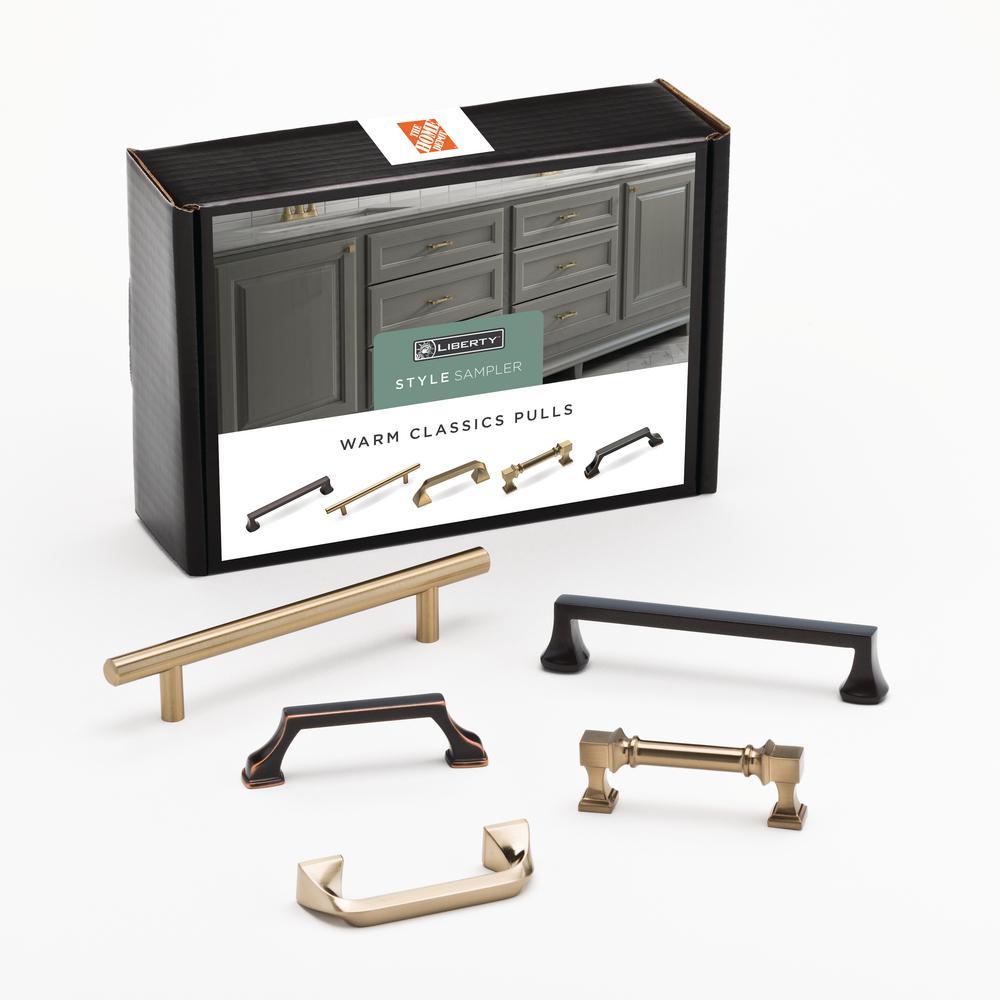 Warm Classics Drawer Pull Sample Box (5-Pack)