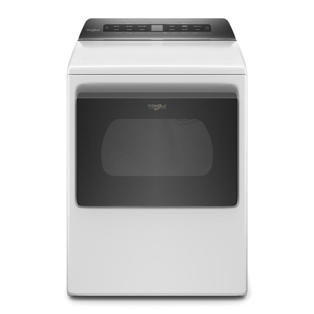 Whirlpool 7.4 cu. ft. White Front Load Electric Dryer with AccuDry System