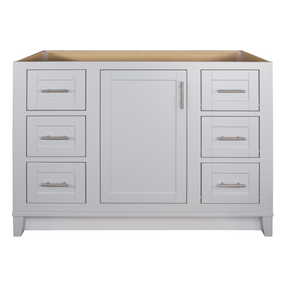 Kinghurst 48 in. W x 21 in. x 33.5 in. H D Bathroom Vanity Cabinet Only in Dove Gray
