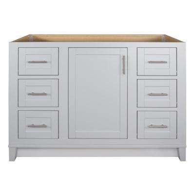 Kinghurst 48 in. W x 21 in. x 33.5 in. H D Bathroom Vanity Cabinet Only in Dove Gray