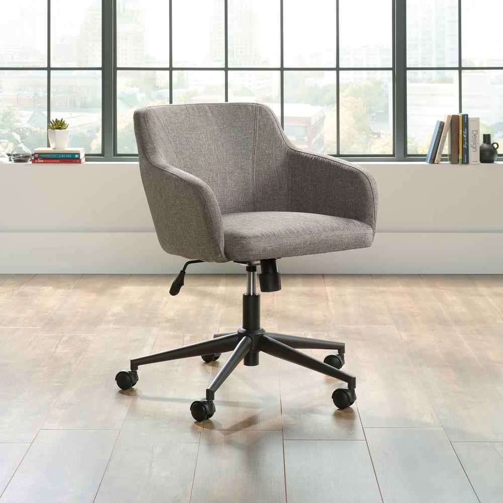 Harvey Park Gray Upholstery Office Chair