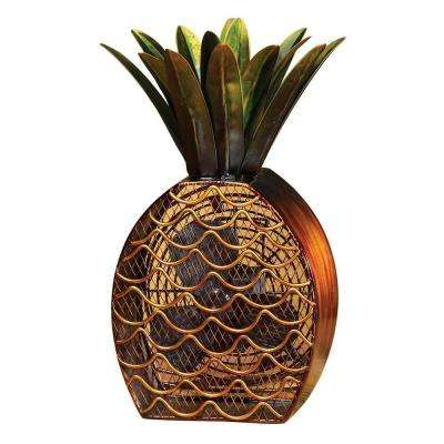 7 in. Figurine Fan-Pineapple