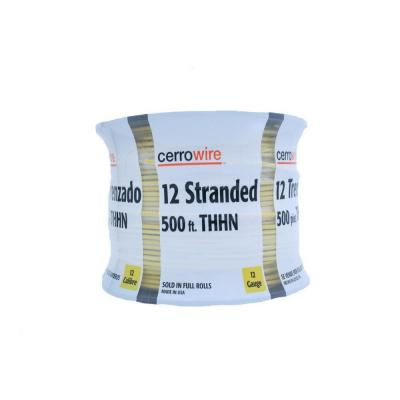 500 ft. 12-Gauge Yellow Stranded THHN Wire