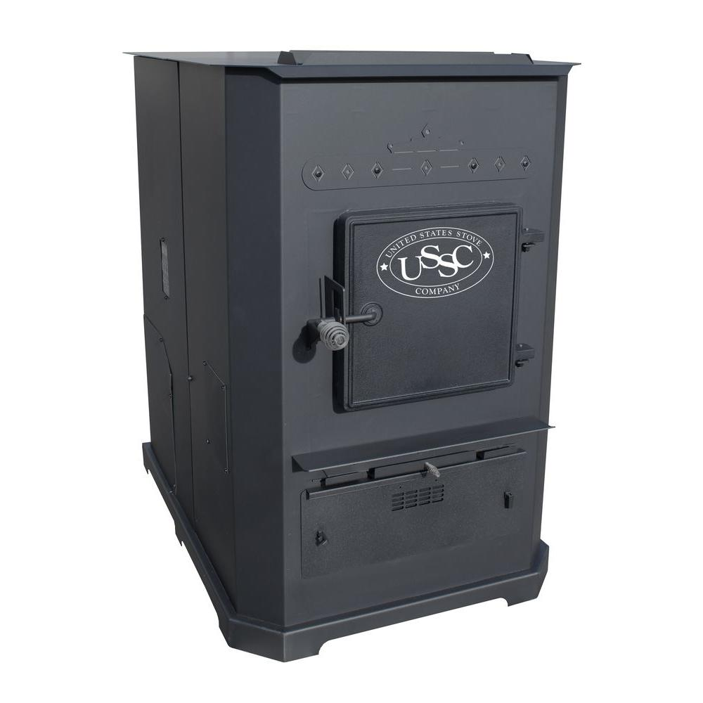 US Stove 3,000 sq. ft. Multi-Fuel Furnace Pellet Stove