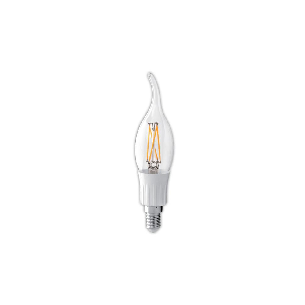 Feit Electric 40w Equivalent Soft White A19 Clear Filament: Feit Electric 40W Equivalent Soft White R14 Dimmable LED
