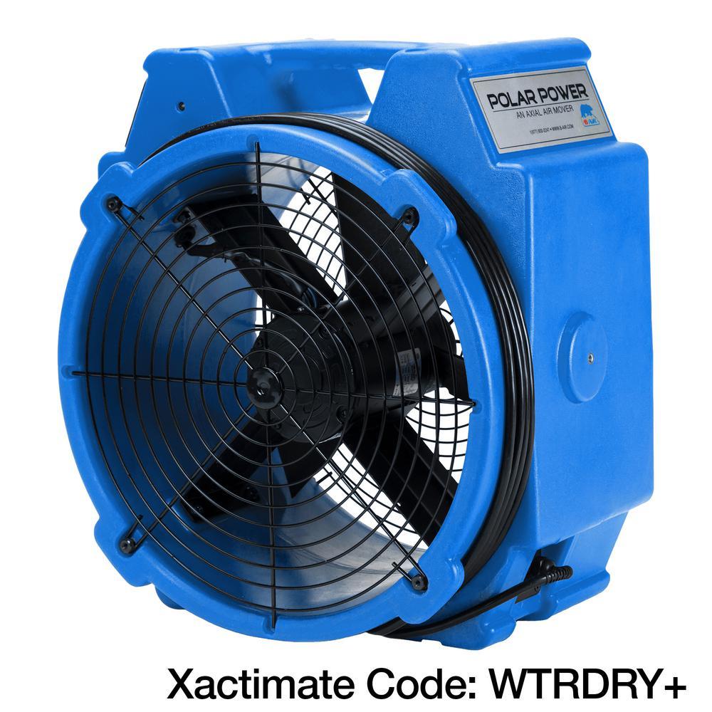 Industrial Heavy Duty Fan Blower Portable Heater Attachment Air Mover Floor Fan