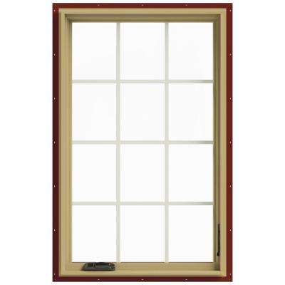 30 in. x 48 in. W-2500 Right-Hand Casement Aluminum Clad Wood Window