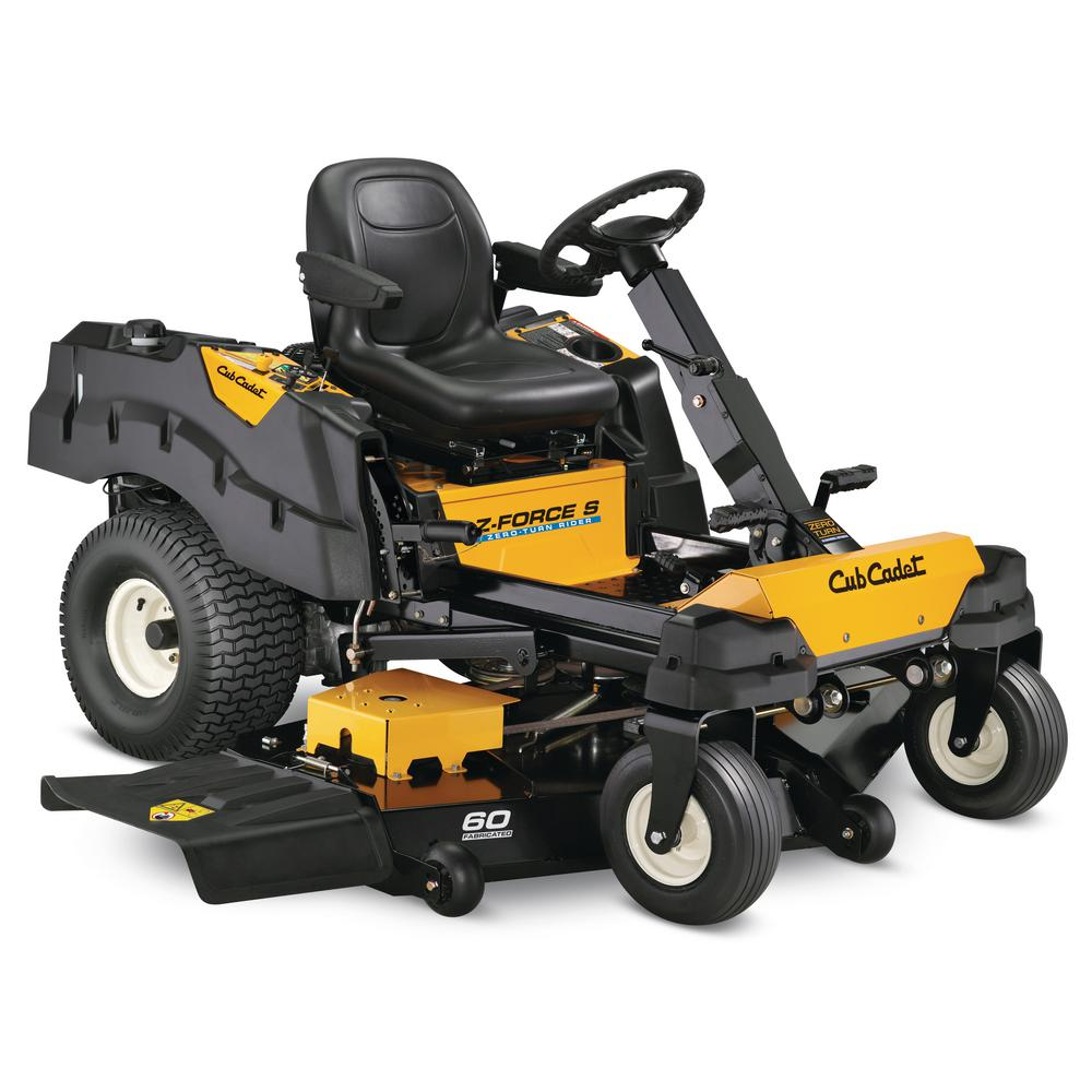 Z-Force S 60 in. 25 HP Fabricated Deck Kohler Pro V-Twin Dual-Hydro Zero-Turn Mower with Steering Wheel Control
