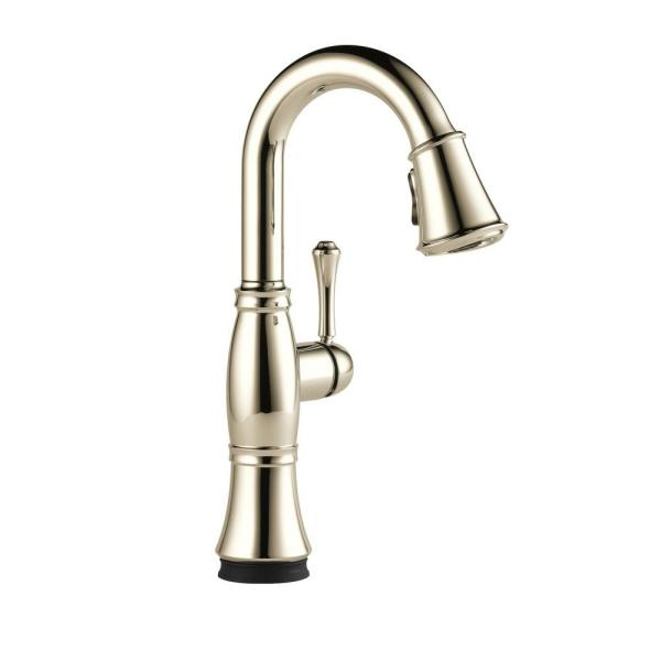 Cassidy Touch Single-Handle Bar Faucet in Lumicoat Polished Nickel