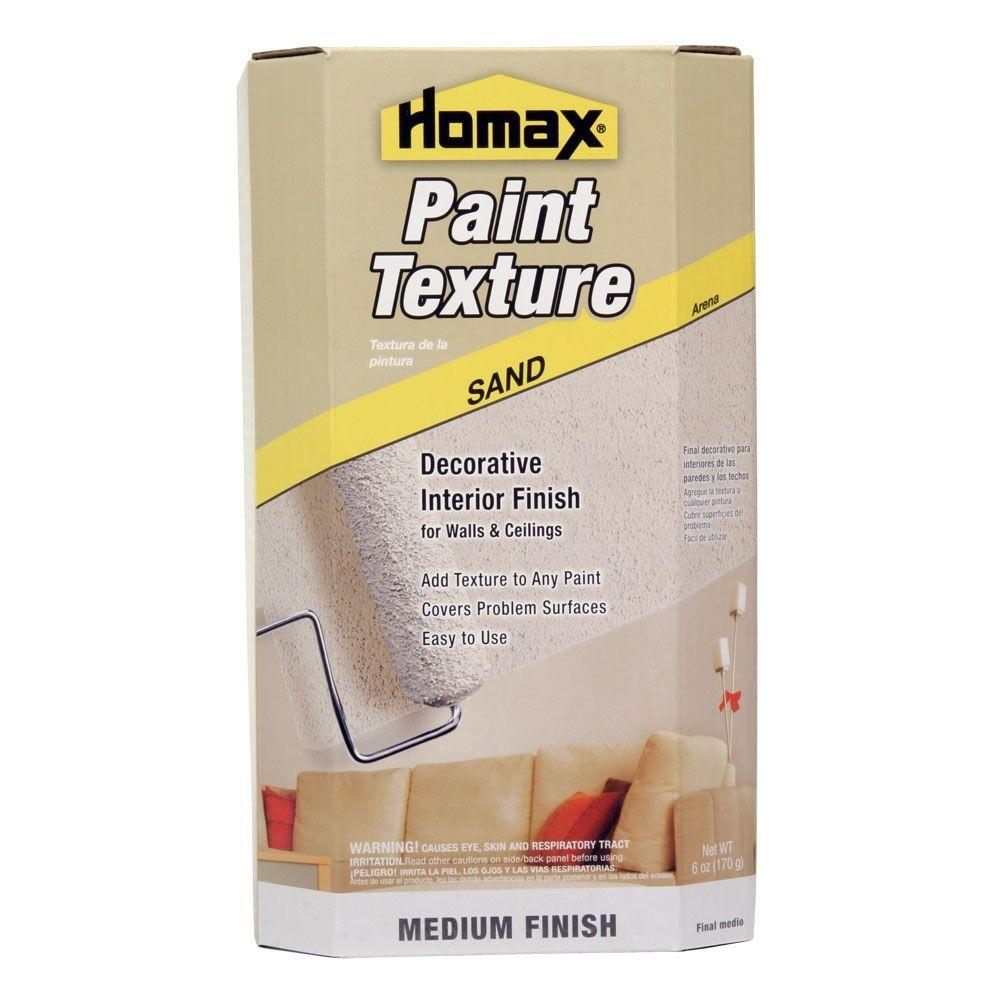 Well-liked Homax Sand Texture Paint Additive-8474 - The Home Depot FY41