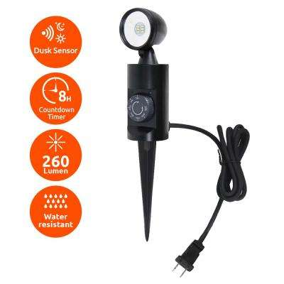 240lm Outdoor LED Landscape Stake Light with Timer
