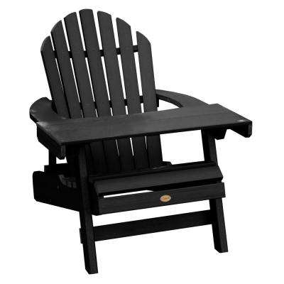 Hamilton Black 2-Piece Recycled Plastic Outdoor Seating Set