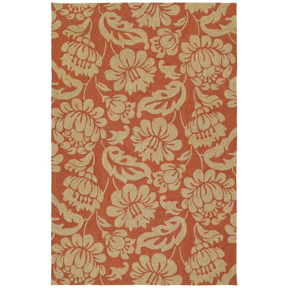 Habitat Calypso Copper 9 ft. x 12 ft. Indoor/Outdoor Area Rug