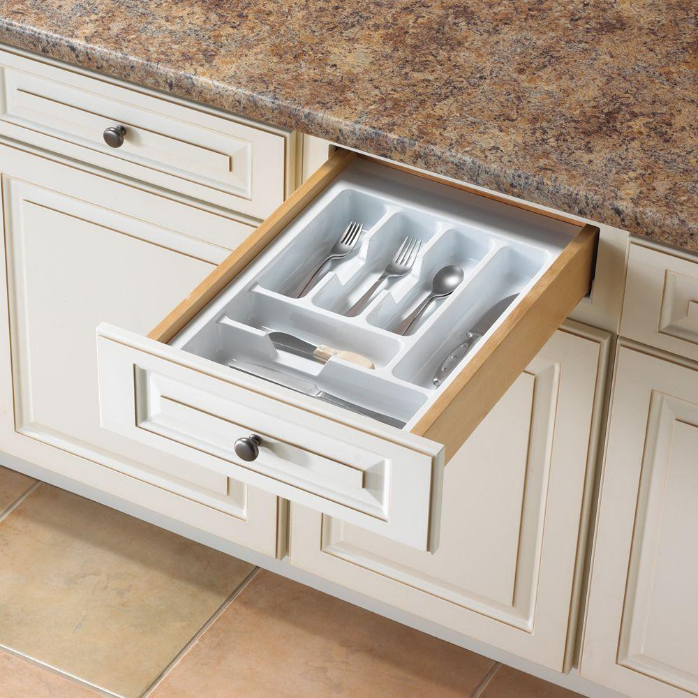 2.13 in. x 14.69 in. x 21 in. Tableware Drawer Organizer