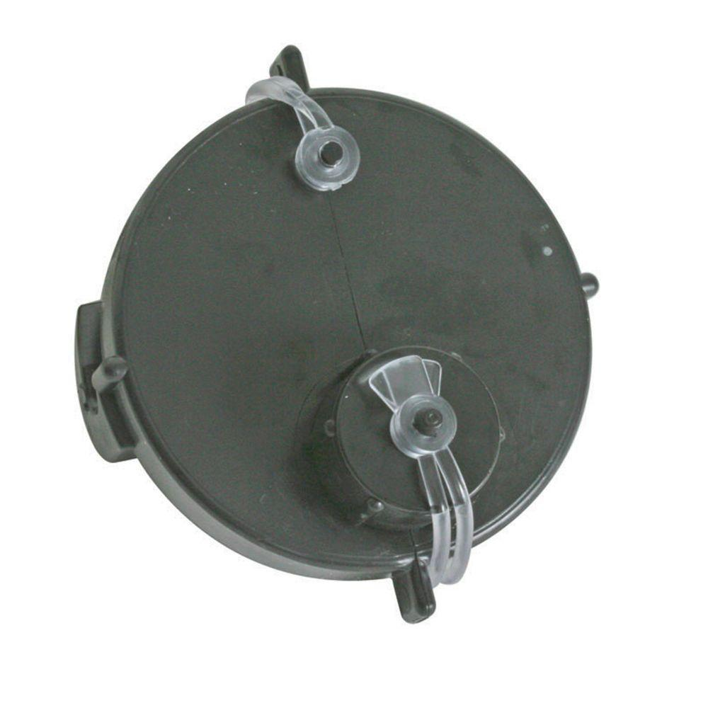 Camco RV Sewer Cap with Hose Connector