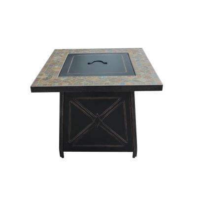 Cool Crossridge 50 000 Btu Antique Bronze Finish Gas Fire Pit Download Free Architecture Designs Grimeyleaguecom