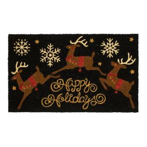christmas rugs doormats - Craftsman Christmas Classic