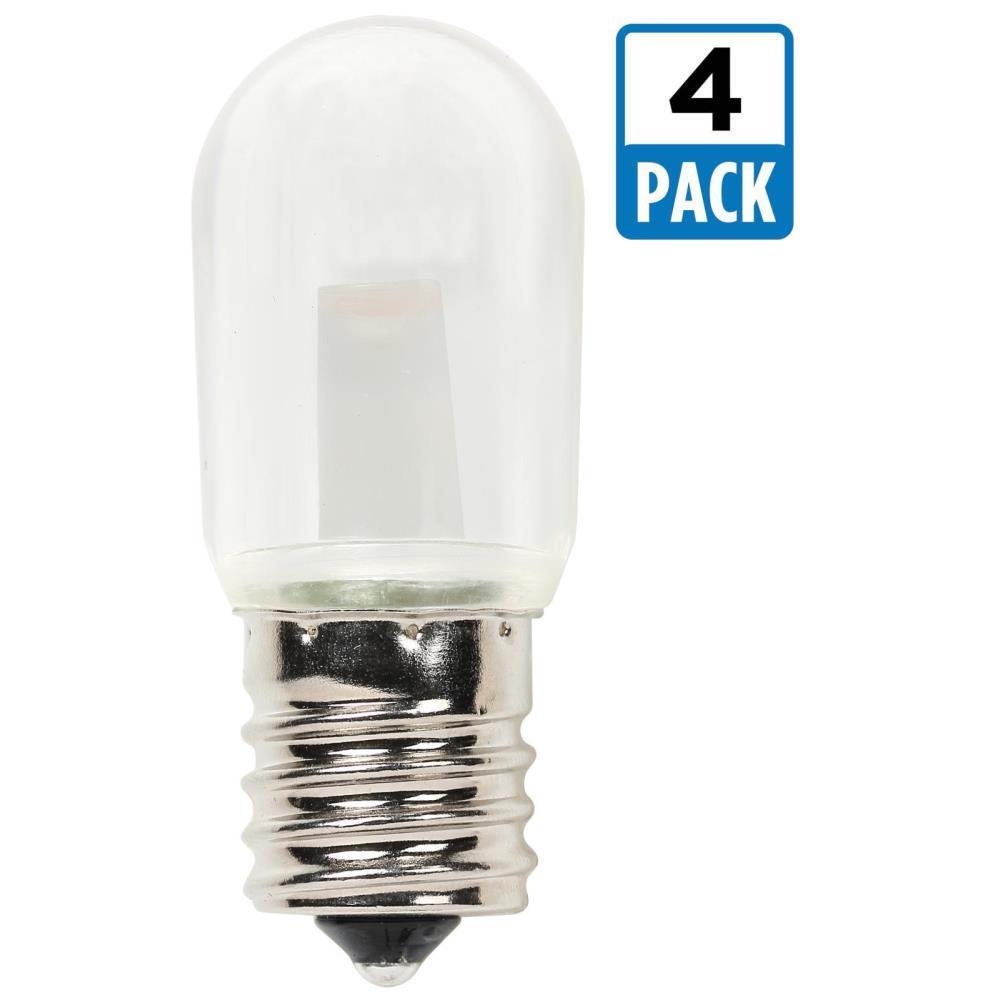15W Equivalent Clear T7 LED Light Bulb (4-Pack)