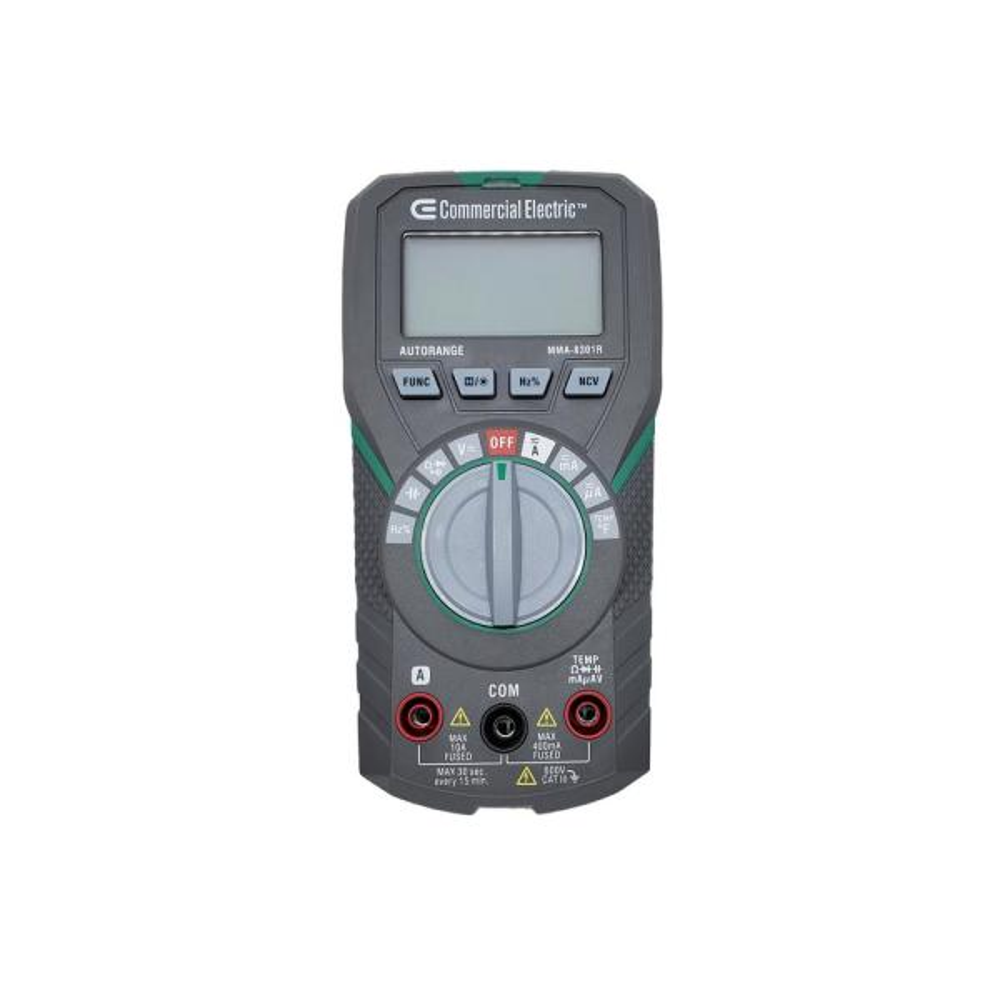 Auto Ranging Multimeter 600V