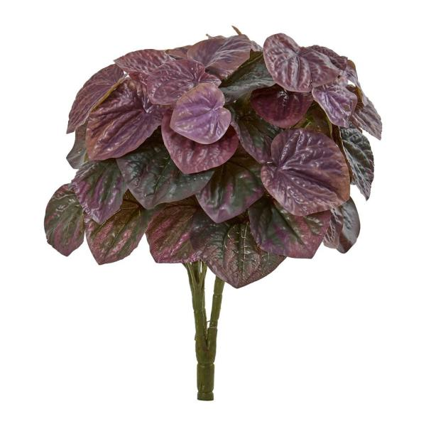 Indoor 14 Peperomia Artificial Plant (Set of 6)