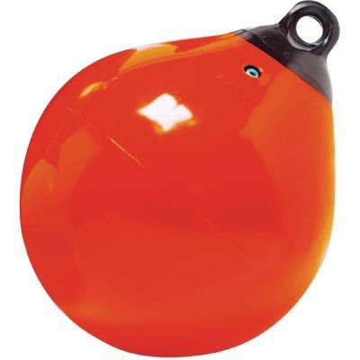 15 in. Tuff End Buoy, Orange
