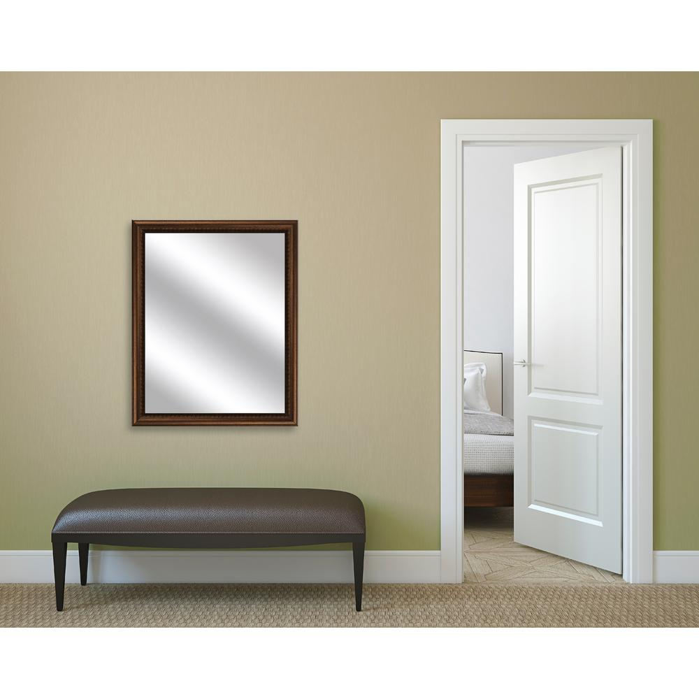 30.75 in. x 24.75 in. Gold Framed Mirror
