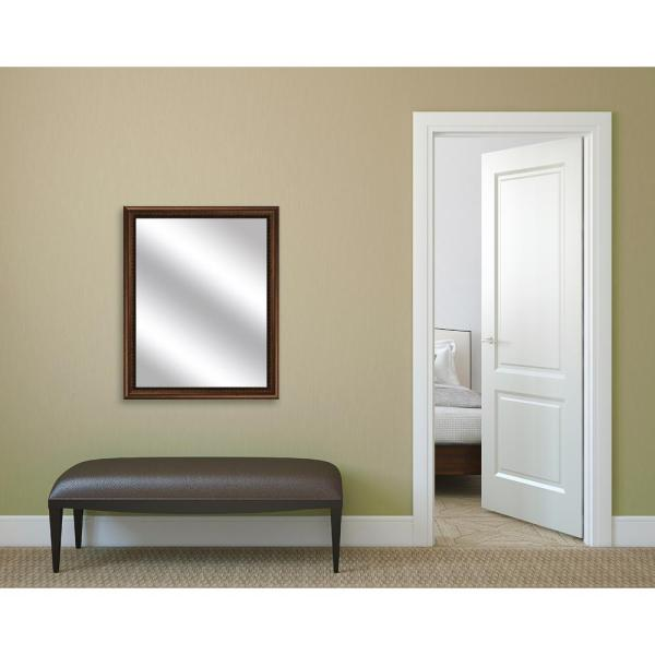 PTM Images 30.75 in. x 24.75 in. Gold Framed Mirror