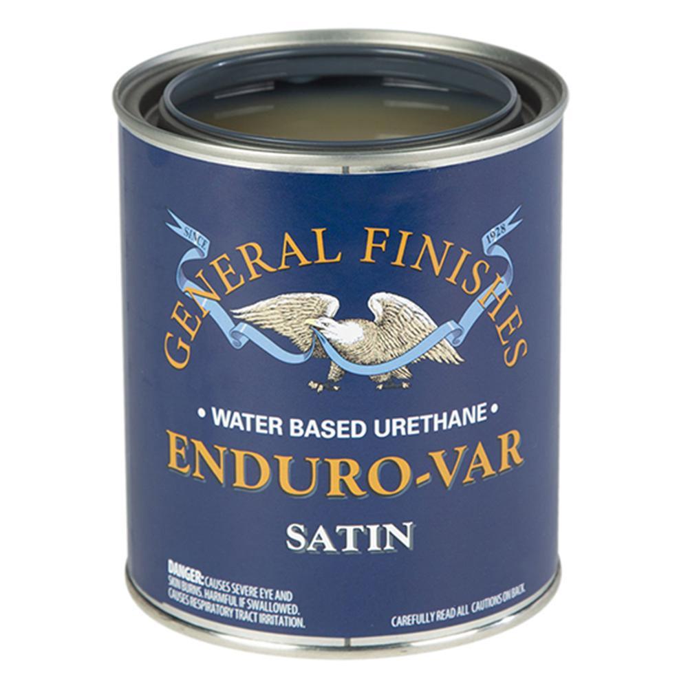 1-qt. Satin Enduro-Var Urethane Interior Topcoat