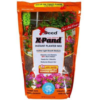 2.5 lbs. X-Pand Instant Planter Mix